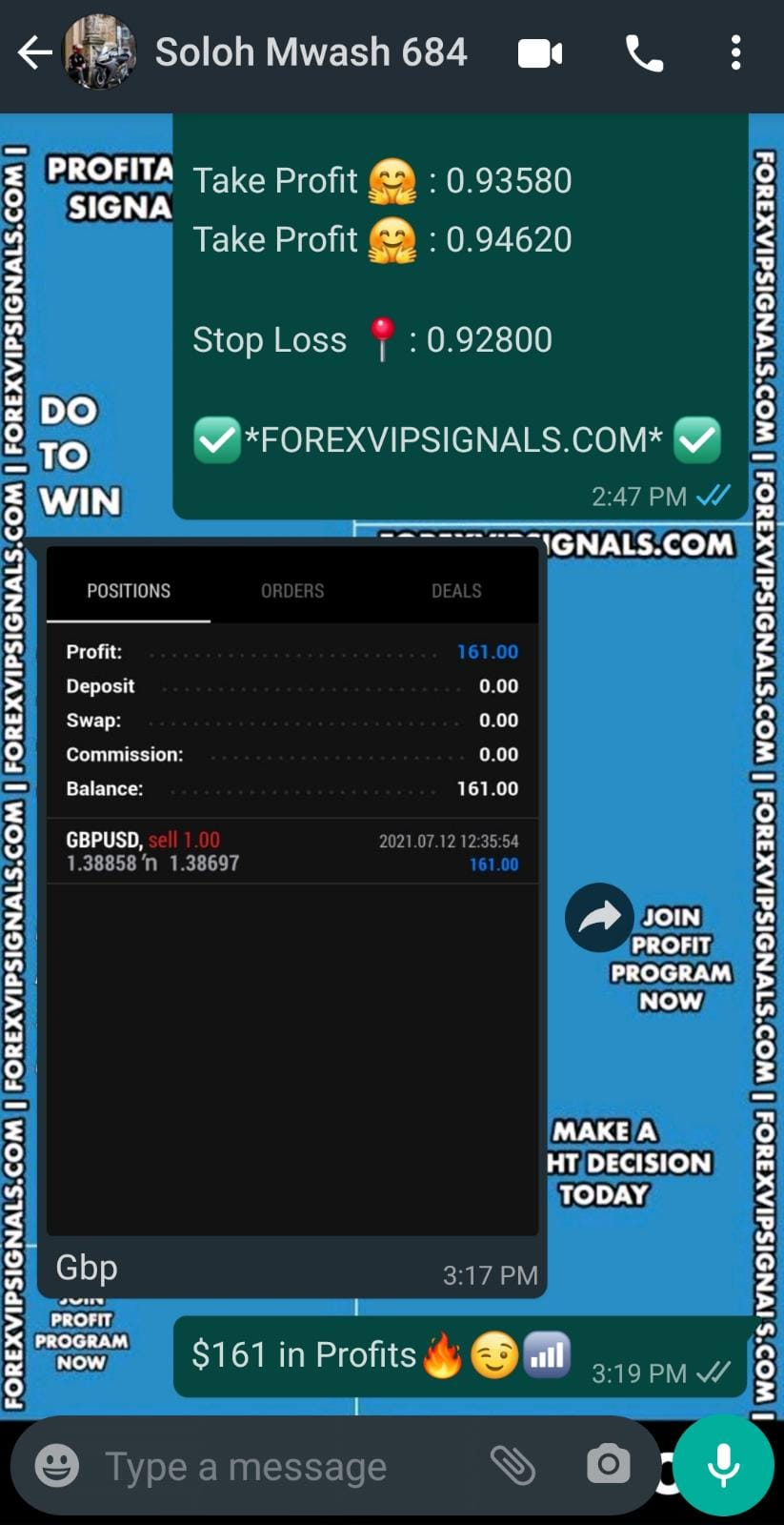 forex vip signals by forex vip signals