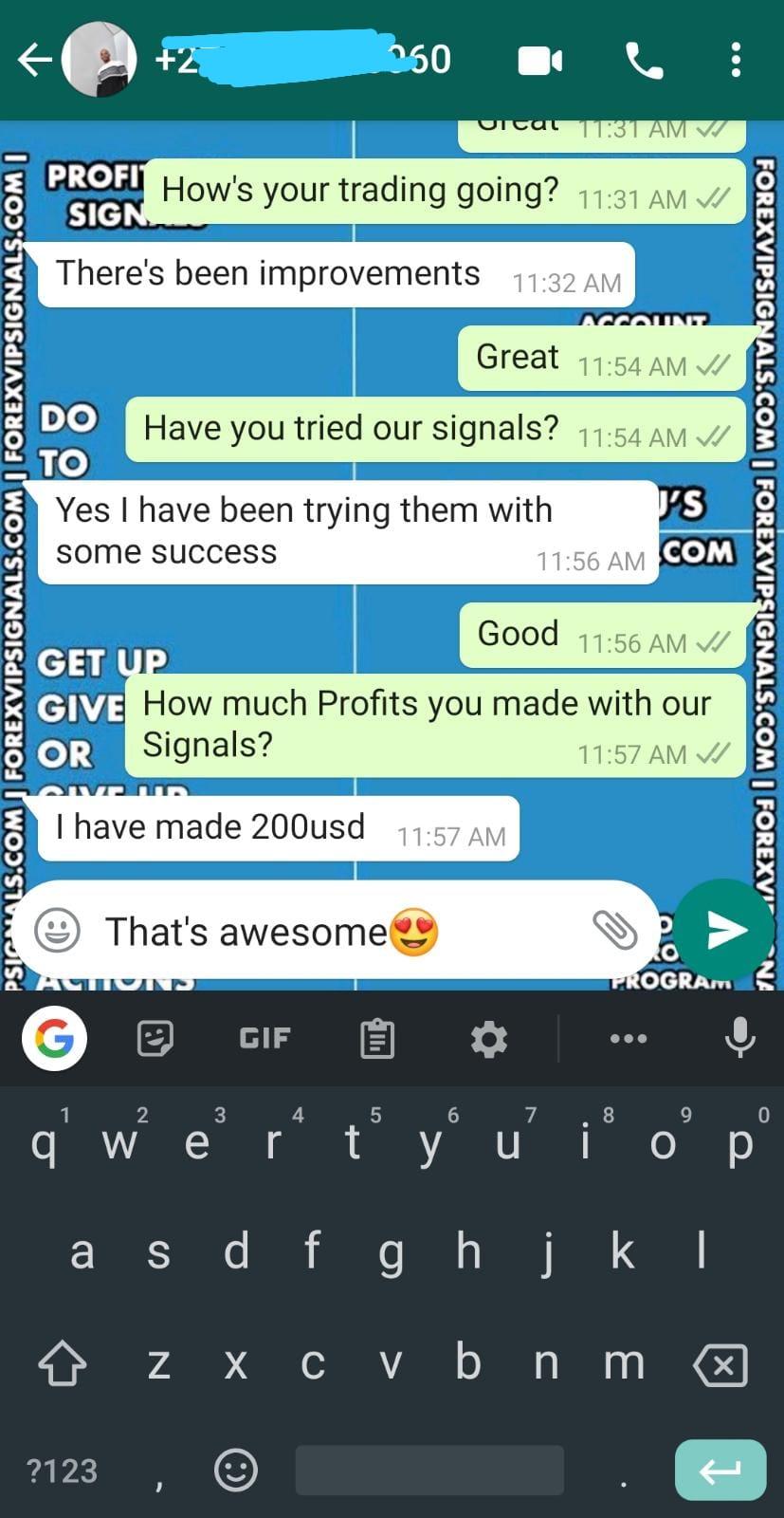 free forex signals telegram by forex vip signals
