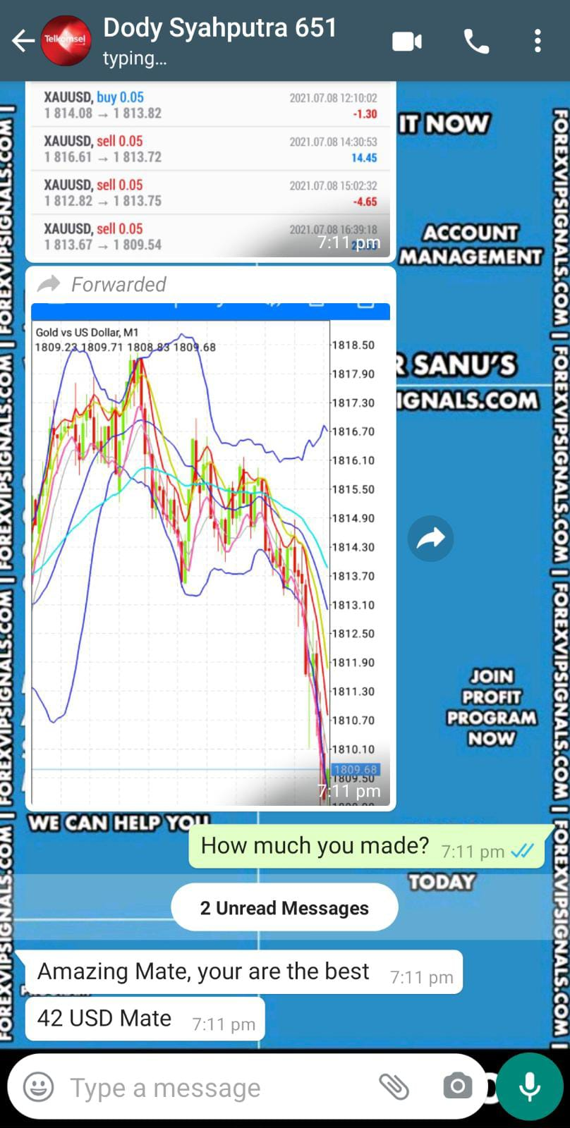 free vip forex signals by forex vip signals