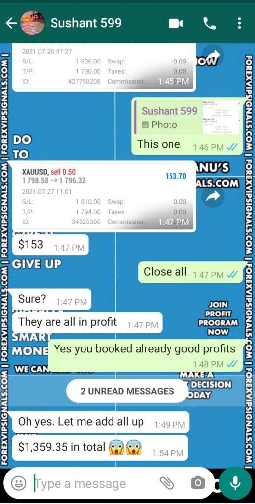 profit forex signals by forex vip signals