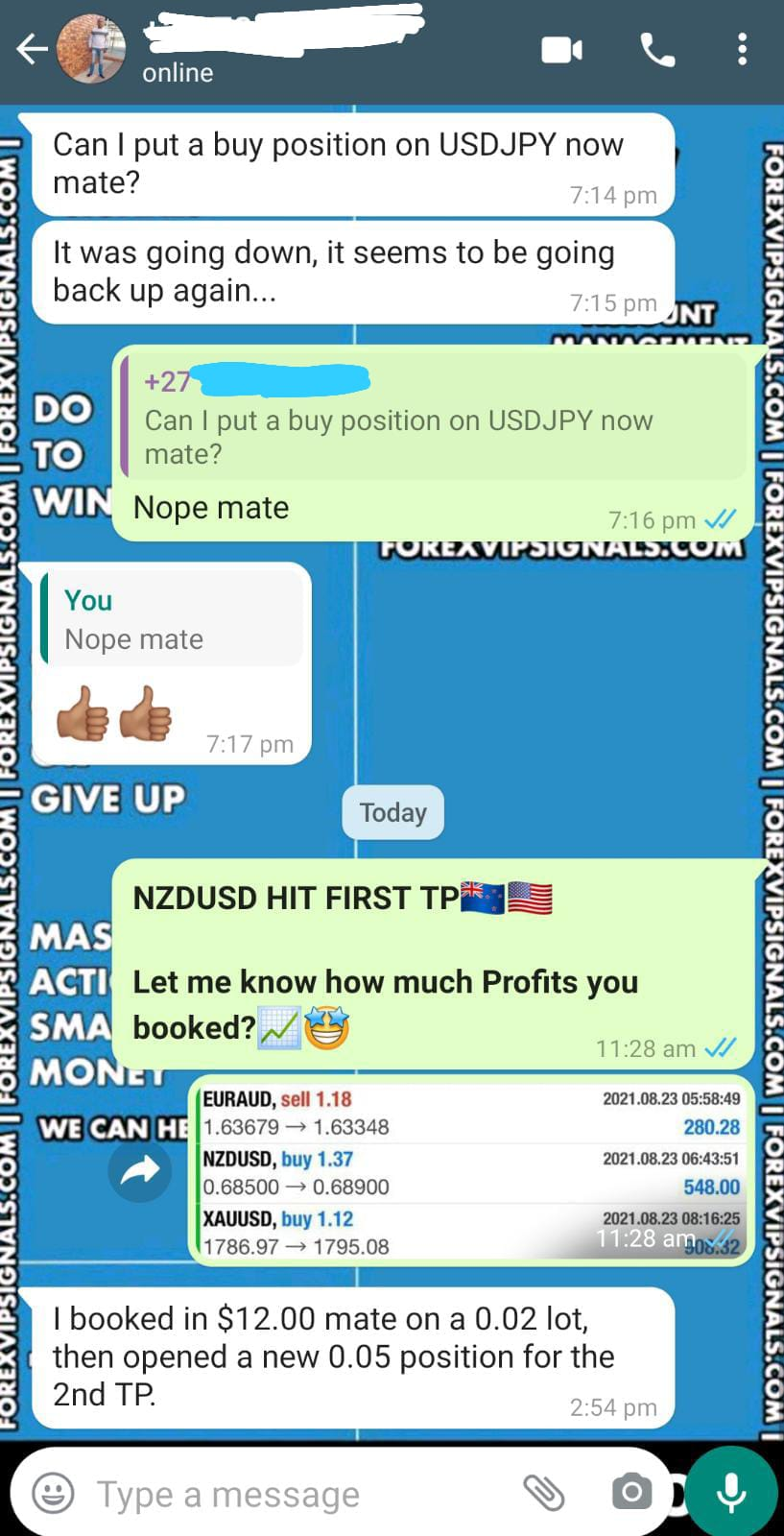 accurate forex signals live with forex vip signals