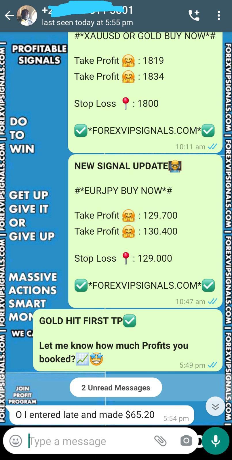 forex signals telegram by forex vip signals