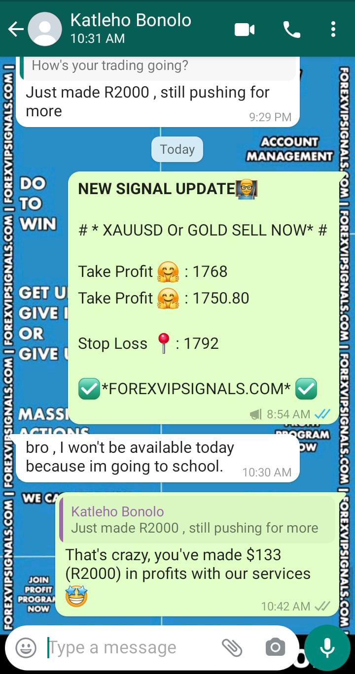 xauusd signal with forex vip signals