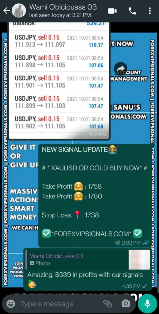 signal forex vip by forex vip signals